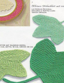crochet fall leaves, crochet patterns