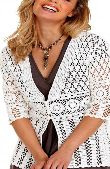 crochet ladies jacket