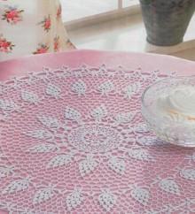 crochet round doily, crochet pattern