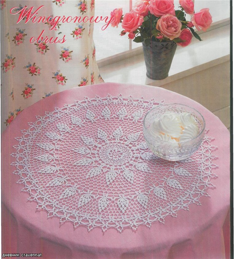Crochet Round Doily Crochet Pattern Make Handmade Crochet Craft