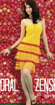 crochet summer sexy dress for girl