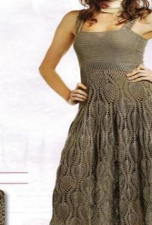 crochet tank dress for summer