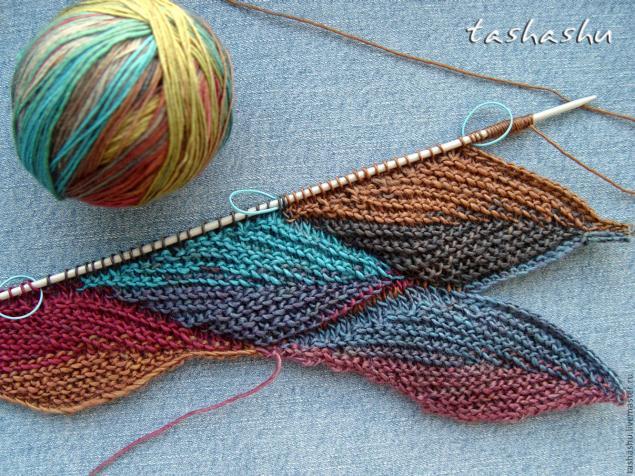 Falling Leaves Knitting Pattern : knitting fall leaves for fashion make handmade, crochet, craft