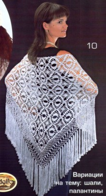 """shawls, wraps, napkins, tablecloths, skirts related patterns """"eye of the dragon"""""""