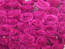 making paper rose for heart gifts