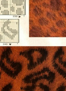 animal skin crochet and knitting patterns