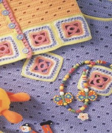 crochet baby fashion