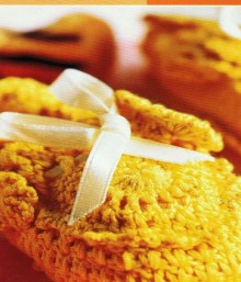 crochet beauty baby booties