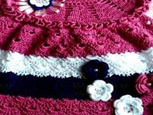 crochet beauty baby dress