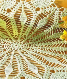 crochet beauty doilies for party