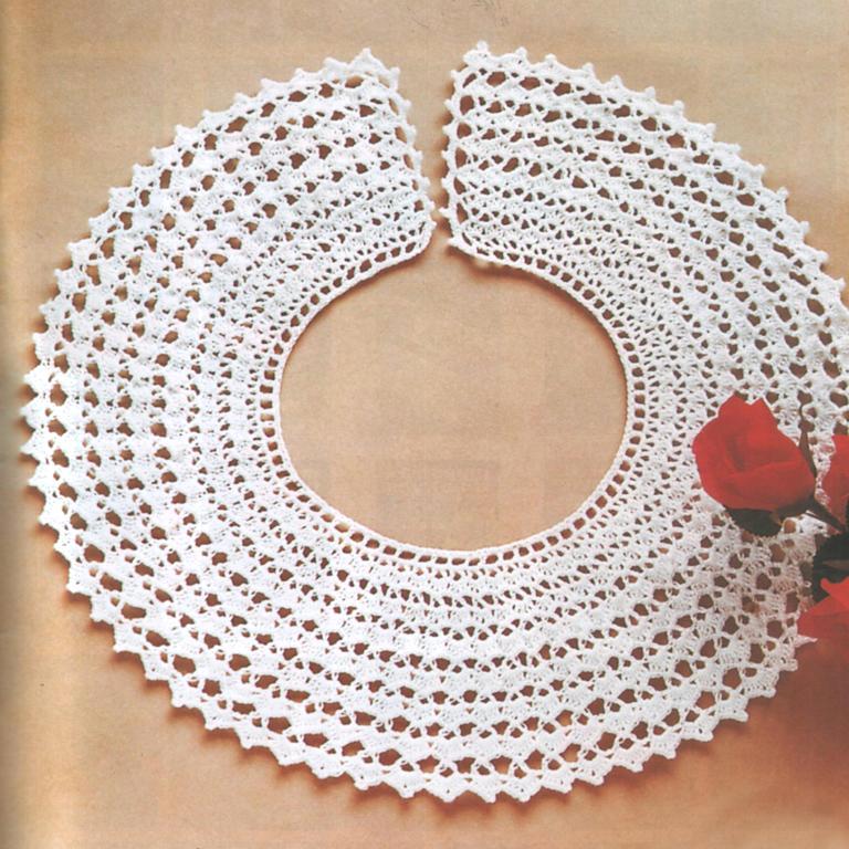 Crochet Beauty And Easy Collar Make Handmade Crochet Craft