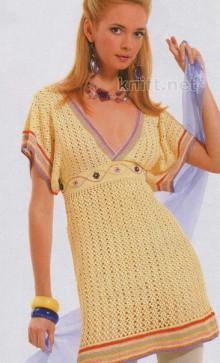 crochet beauty ladies dress