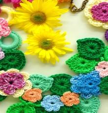 crochet beauty necklaces, more crochet ideas