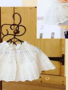 crochet easy baby shawl