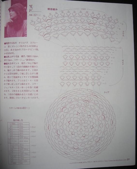 связать крючком по схемам(567x700, 267Kb)