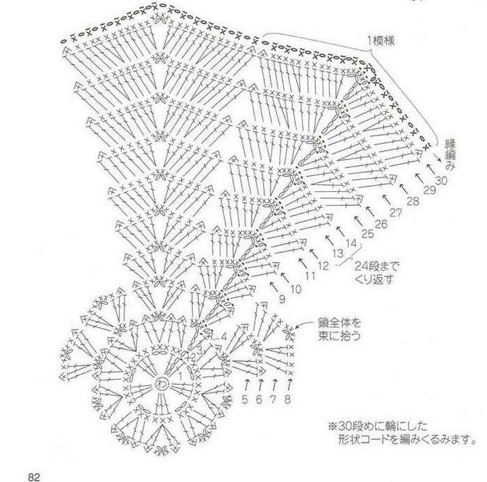 связать крючком по схемам (700x693, 101Kb)