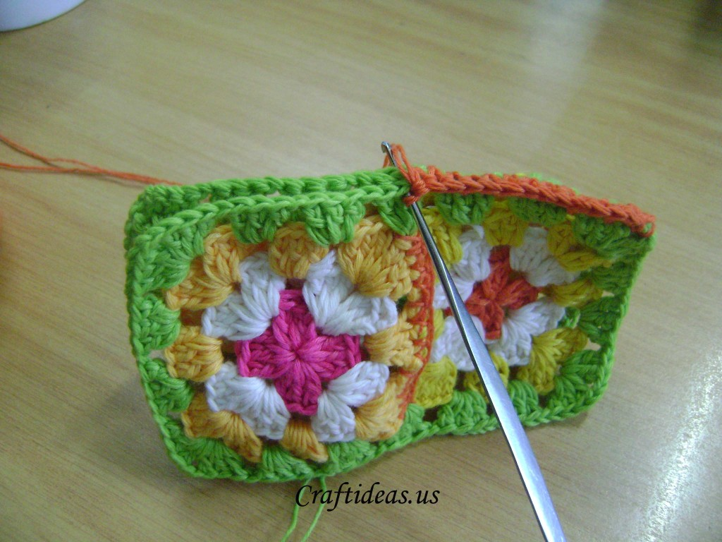 crochet joing item