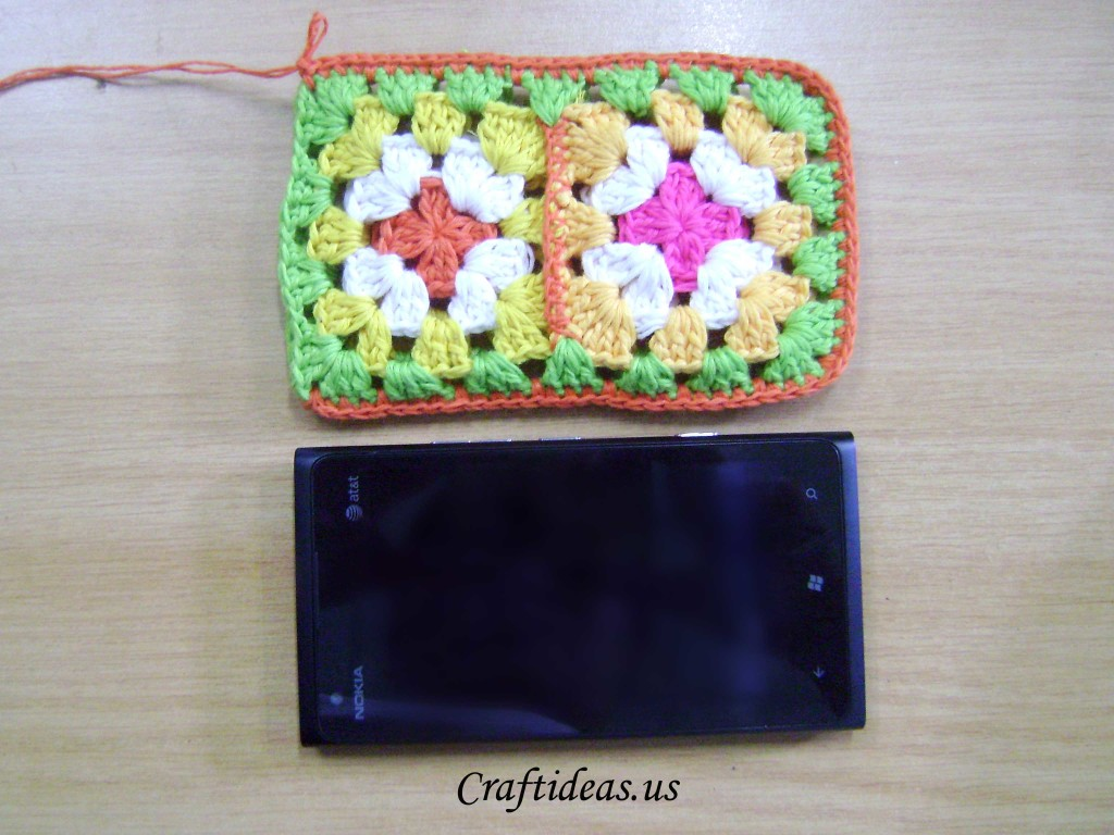 crochet phone bag tutorial
