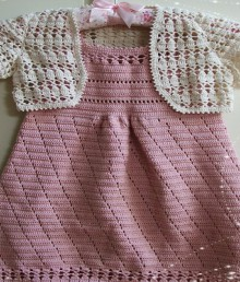 crochet set for baby girl