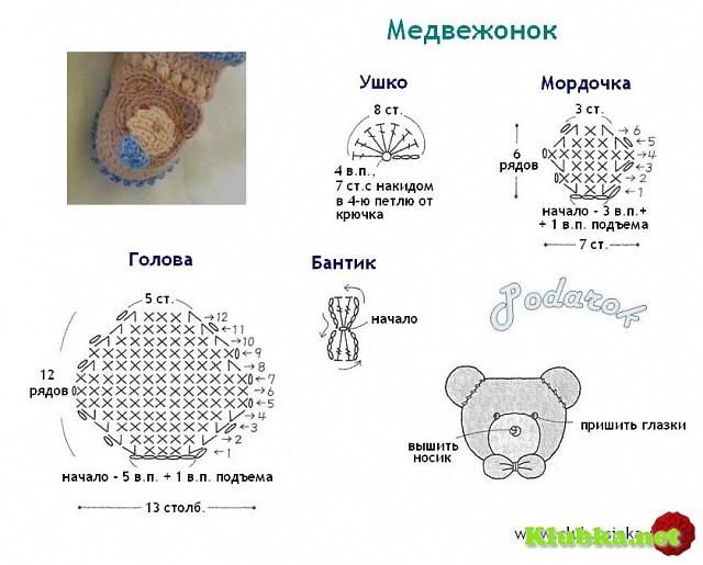 Вязание животных схемы и описание 52