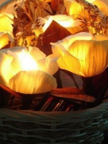 unique and beauty flower lamps for your home