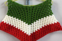 crochet christmas ideas : crochet baby poncho