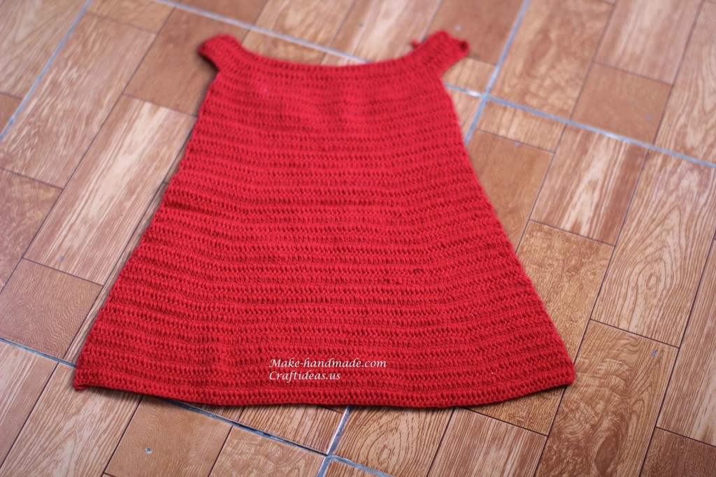 Crochet santa set