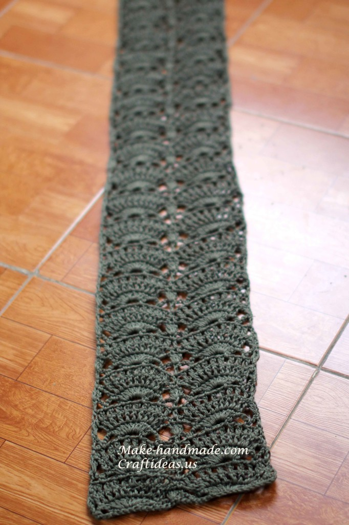crochet scarf ideas
