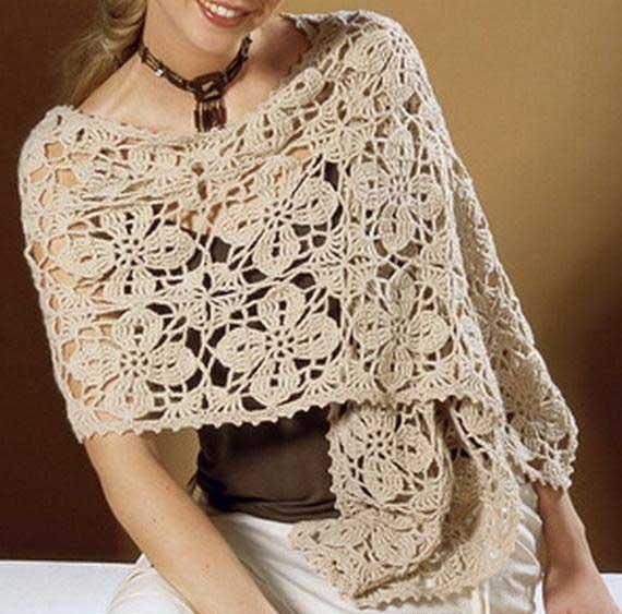 Crochet-Womens-Shawl-Wrap-Free-Pattern 13