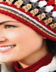 crochet stylish women's beanie hat