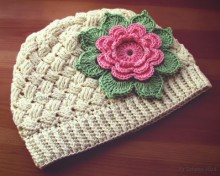 beauty baby cable hat crochet pattern