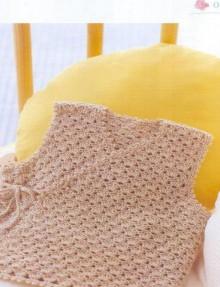 crochet baby vest, crochet pattern