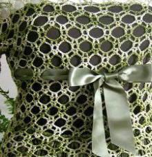 crochet lace tunic, crochet pattern