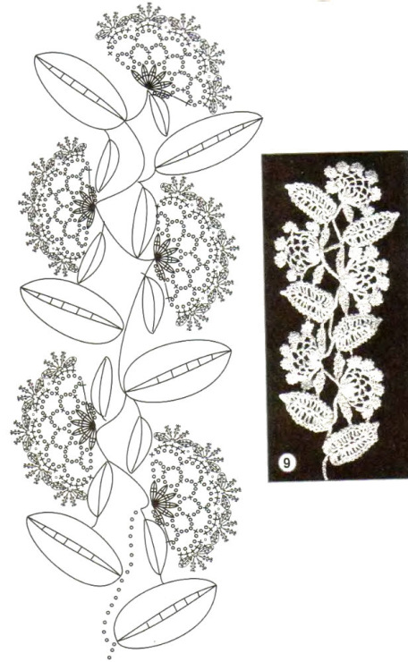Flowers and leaves crochet patterns Images - Frompo