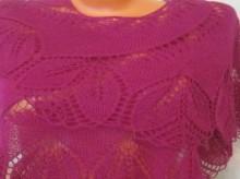 knitting beauty lace women shawl, knitting patters
