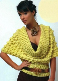 knitting and crochet beauty lady cardigan