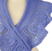 knitting lace shawl and stole