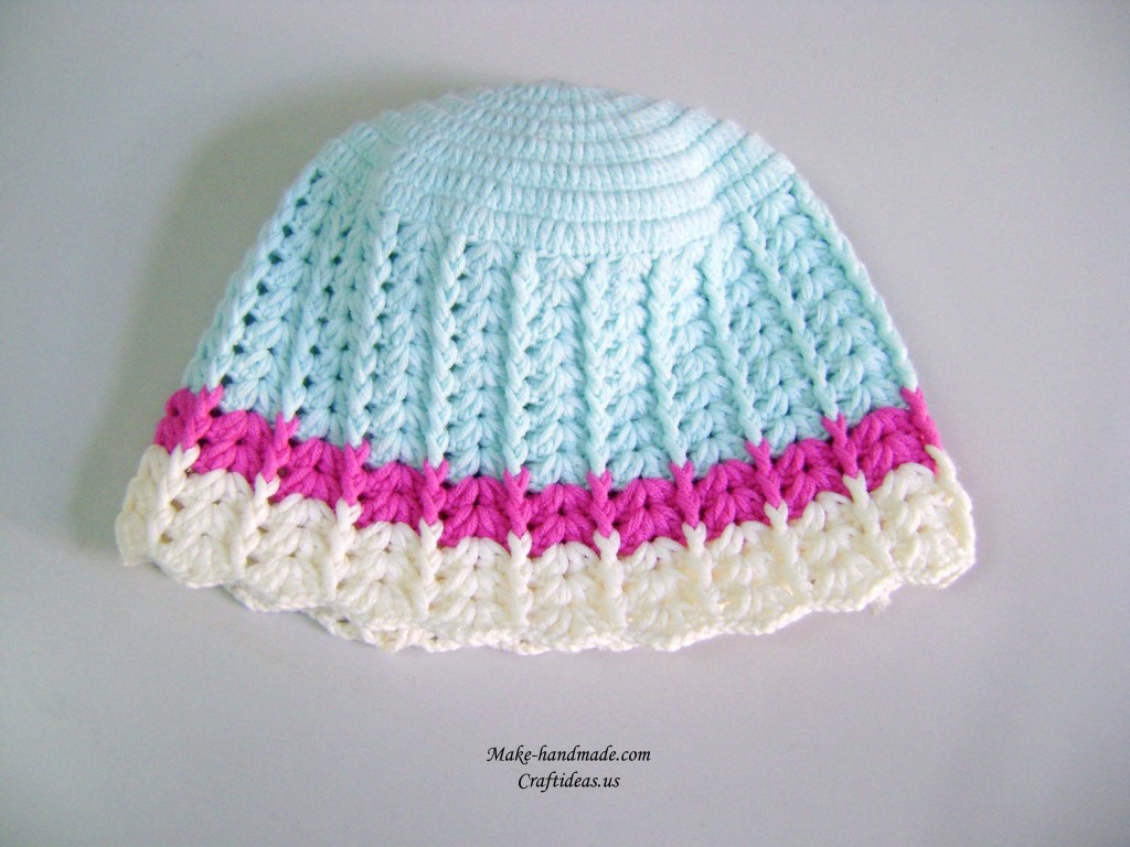 Crochet kiddies hats