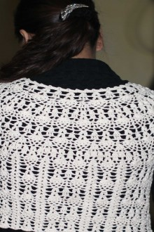 crochet lace summer cardigan and vest for girl