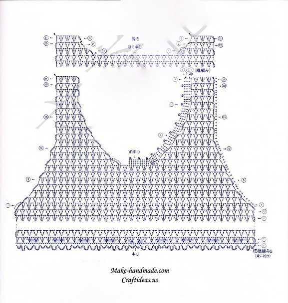 Crochet Patterns Diagram : Diagram Crochet Baby Dress Patterns - DopePicz