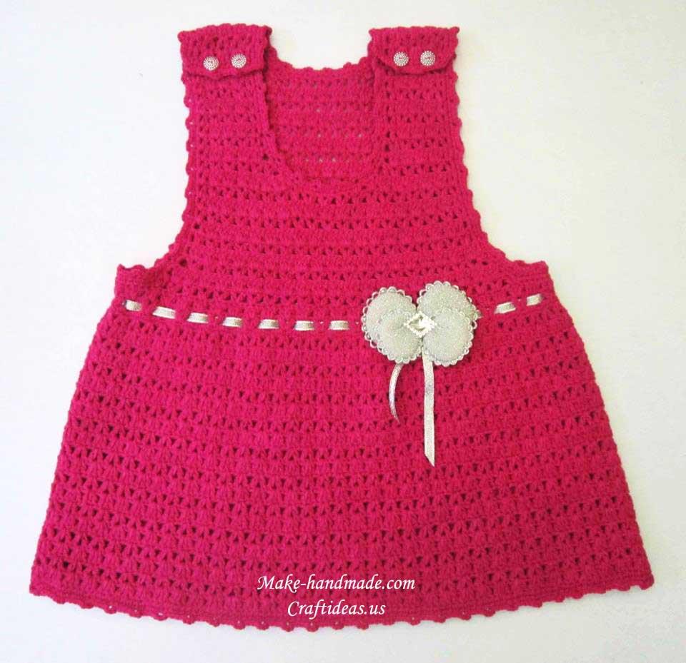 Вязание детских юбок крючком 844