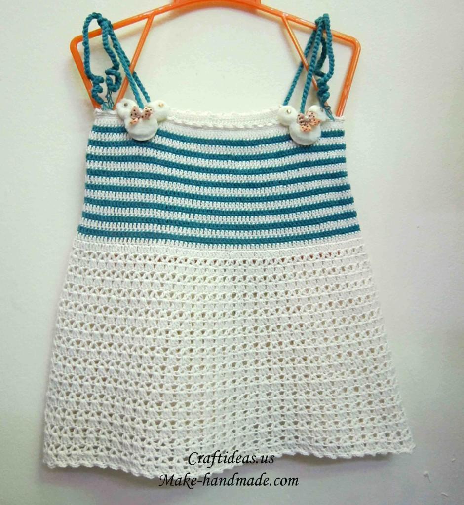 crochet baby dresses 12