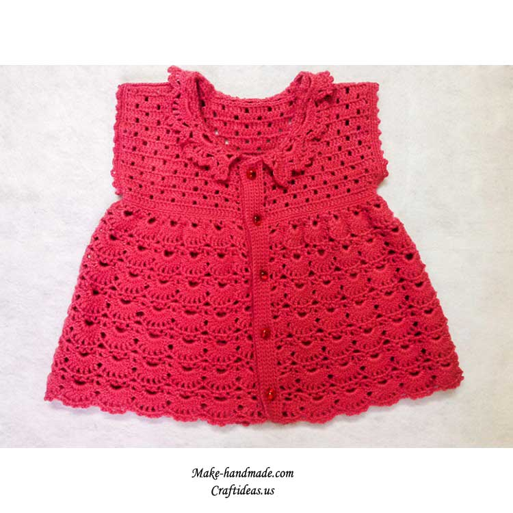 crochet baby fashion and dress