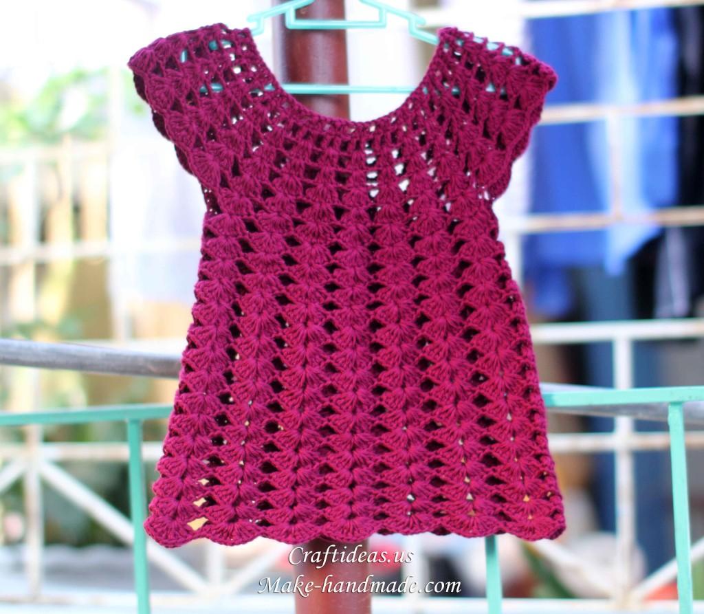 crochet baby girl fashion