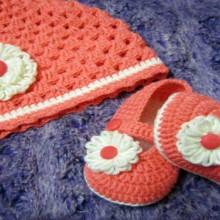 shell crochet beanie hat