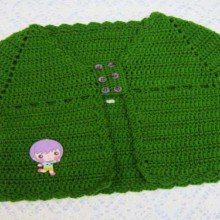 crochet baby cardigan and jacket