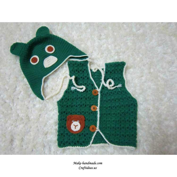 crochet baby vest 1