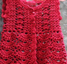 crochet beauty and charming baby dress