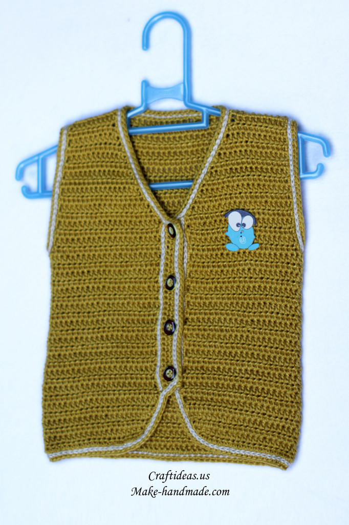crochet beauty baby vest 2