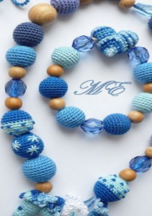 crochet beauty jewelry